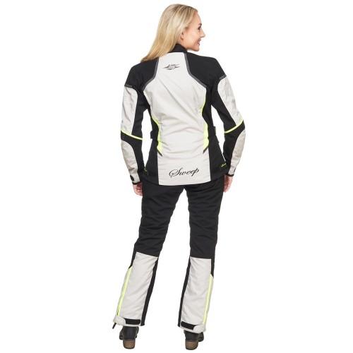 ad801e762 Sweep Charisma Ladies 4 - Season Jacket, Black/Beige/Yellow